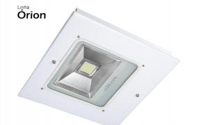 Lumin�ria COB LED para postos de combust�veis OLIVO